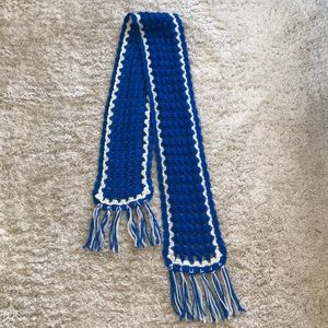 Accessories - Handmade Vintage Blue Scarf